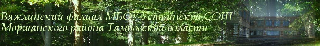 Вяжлинский филиал МБОУ Устьинской СОШ